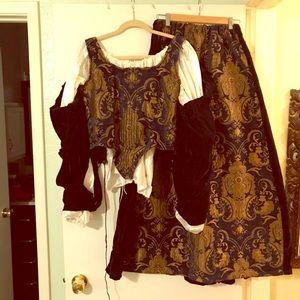 Other - Women's Brocade Renaissance Costume